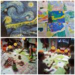 Τα Γιγαντάκια μας ζωγραφίζουν Vincent Van Gohn